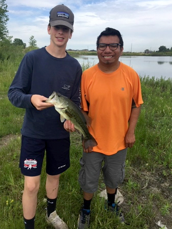 Cast With A Cop Largemouth Catch