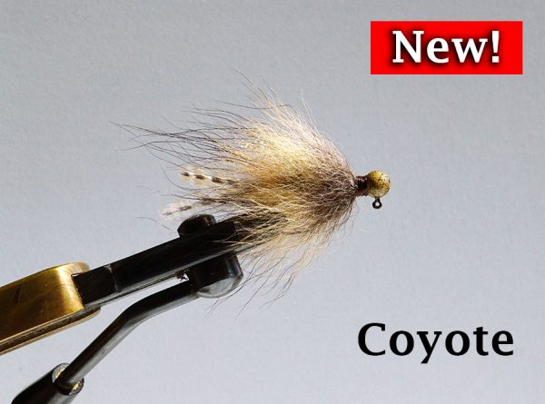 New Fur Tail Jig - Coyote