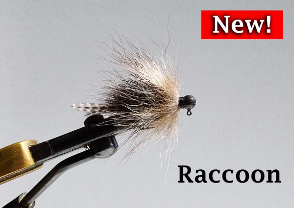 New Fur Tail Jig - Raccoon