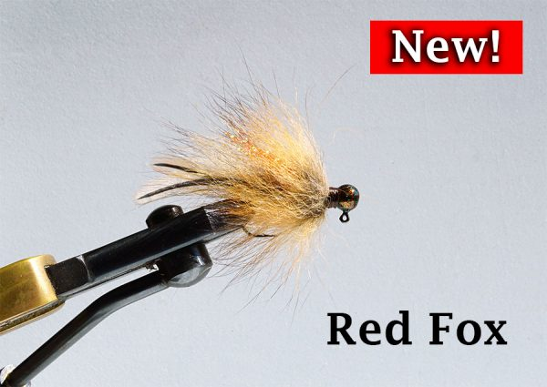 New Fur Tail Jig - Red Fox