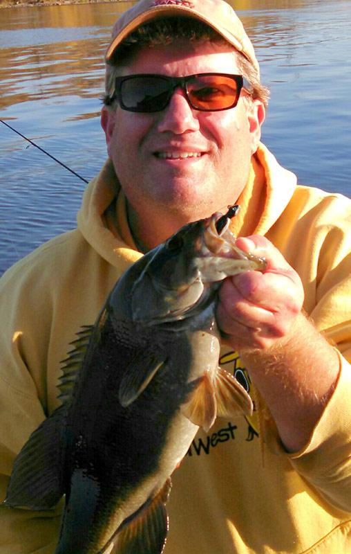 Fish caught on a Minnow Jig