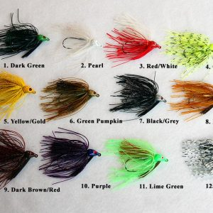 Swim Jigs for Plastics